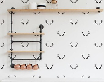 Vinyl Wall Sticker Decal Art - Antlers