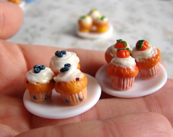 Muffins Realistic miniature food for dollhouse