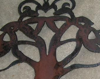 Celtic Tree of Life-Metal Art-Wall Art