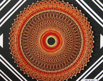 Optical String Art