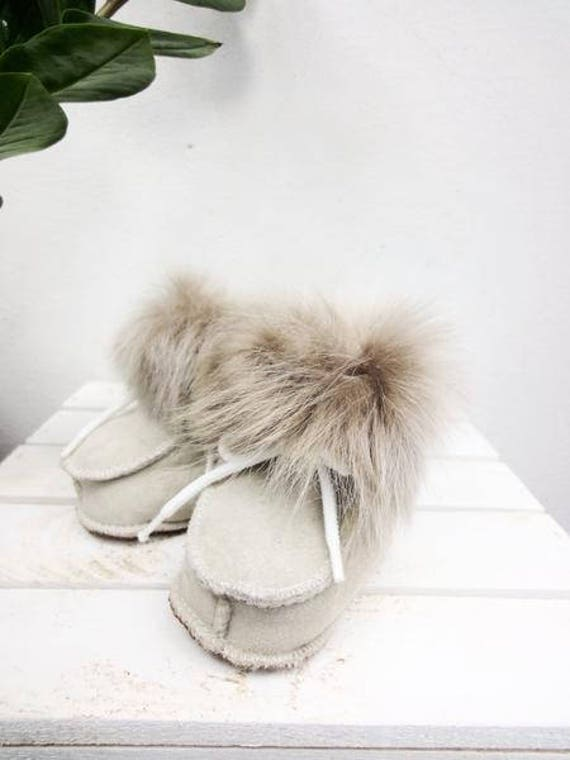 Real Leather Kids' Shoes. Sheepskin Booties For Kids. Genuine Leather & Sheepskin. Healthy Booties. Natural Leather Kids' Shoes.