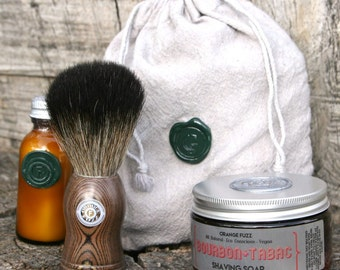 Travel Shave Kit with Aftershave