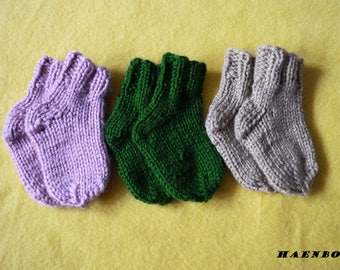 SOCKS SET Three for the price of one Newborn Baby Socks Set