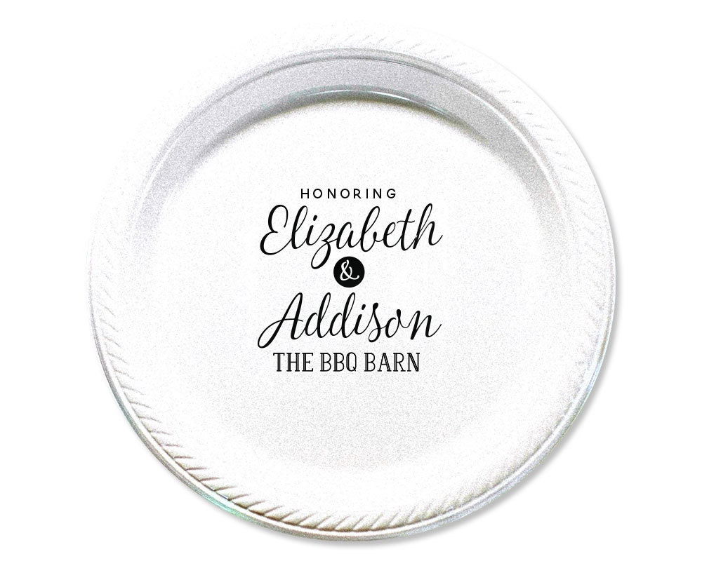 Rehearsal Dinner Plate, Rehearsal, Plates, Cake Plates, Personalized ...