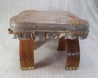 Vintage Camel Saddle Etsy