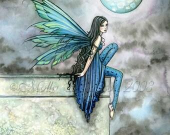 Fairy Fine Art Fantasy Print by Molly Harrison 12 x 16  'Spirit of Night'
