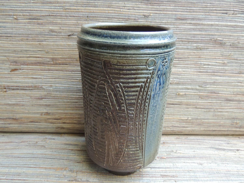 Brian vannostrand pottery vase mid century style vintage vase zoom reviewsmspy