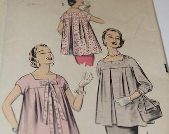 Advanced sewing pattern vintage maternity