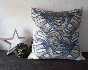 "Design ""Koralas"" from digitally printed fabric collection ""GAMTA"""