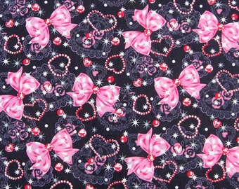 """2036  - 1 yard Cotton fabric - mikey and patch (135cmx91.44cm,53""""x36"""")"""