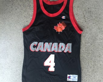 Team Canada Champion Basketball Jersey