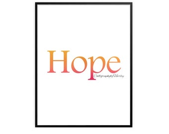 Hope Calligraphy
