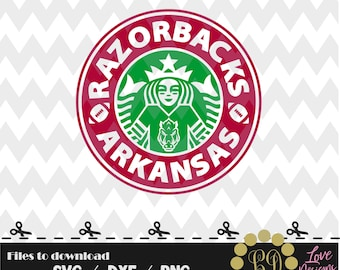 Razorbacks Arkansas coffee svg,png,dxf,shirt,jersey,football,college,university,decal,proud mom,disney,starbucks,ncaa,design,2018,custom