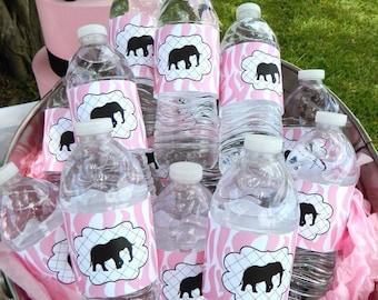 Printable Pink Safari Party (PDF)