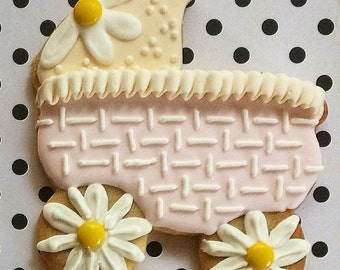 BABY Carriage Sugar Cookies