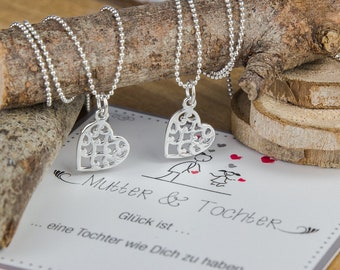 Mama Gift Heart Necklaces 925