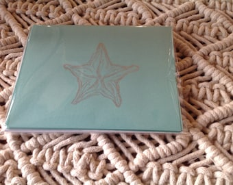 Starfish notecards
