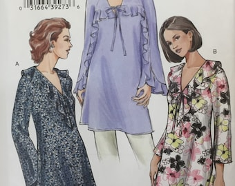 Vogue Pattern V8035 sz G 20 22 24 Misses Tunic Top 2005 Uncut