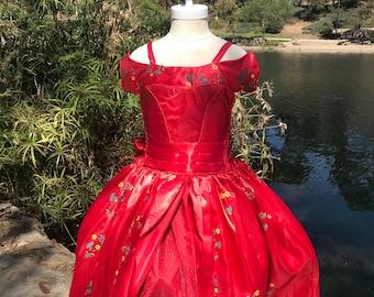Princess Elena of Avalor dress, Costume Halloween costume, Disneyland trip Halloween costume Princess dress