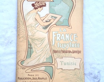 "Illustrated France new publication of grand luxe ""Tunisia"" / number 111"