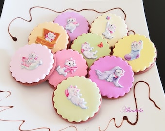 Handmade Fake Cookies Set of 9 Faux Cookies Baby Shower Gift Photography Props
