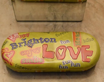 Vintage Brighton Eyeglass Case
