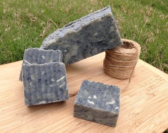 Face Mask Soap with Activated Charcoal and Bentonite Clay