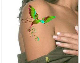 Temporary Tattoo Bird Fake Tattoo