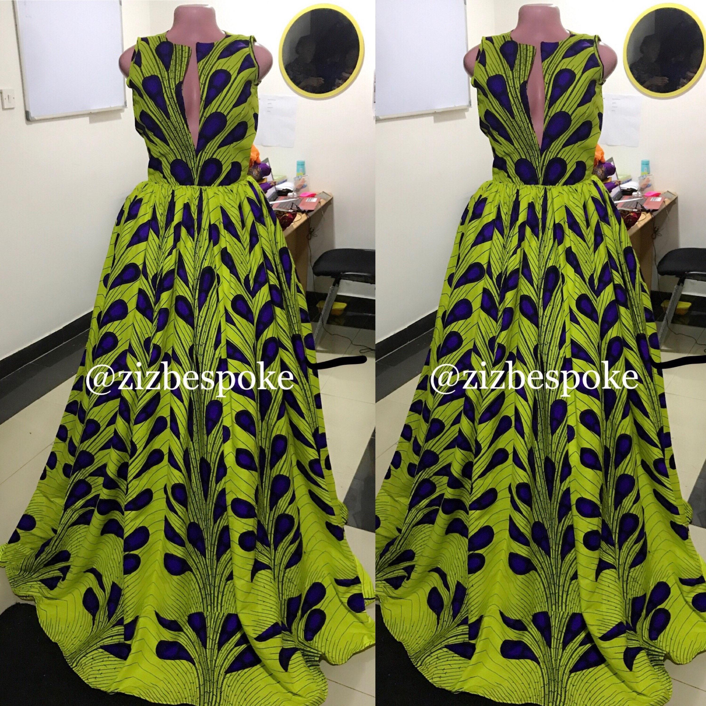 Gelbe Ankara Kleid Neon lila elektrische Glühbirne