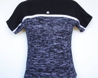 Roll neck sweater wool COURREGES