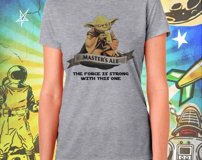 Star Wars / Master Yoda Ale / Women's Gray Performance T-Shirt