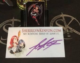 15 Sherrilyn Kenyon Autographed Bookplates
