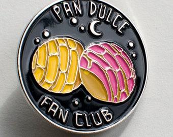 "Pan Dulce Fan Club enamel pin - 1.25"""