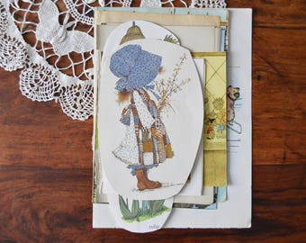 Vintage Book Pages And Paper Scrap Pack From The 1930's-1980,s, Collage, Junk Journals, Paper Crafts, Vintage Ephemera, 26 Piece Set