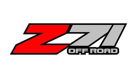 z71 offroad decal chevrolet tahoe denali sierra yukon rh etsy com z71 logo license plates z71 logo vector
