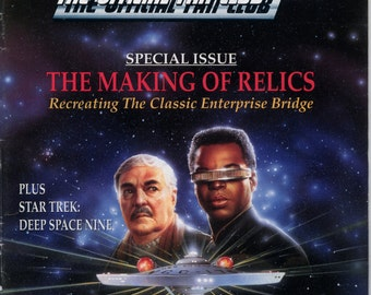 Star Trek the official Fan Club Magazine #90 March April 1993 VG