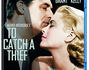 New & Sealed Movies from the 50's To Catch A Thief Blu-ray