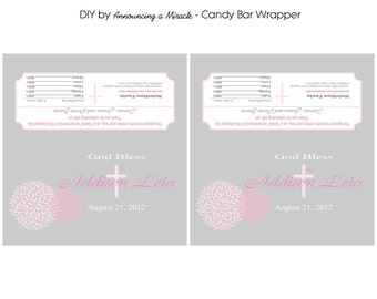 Candy Bar Wrapper - Print Your Own/ Pick Your Theme