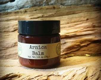 Arnica salve - salve for pain - salve for bruises - arnica balm - salve for bruises - salve for pain - pain salve - touch of herbs - organic
