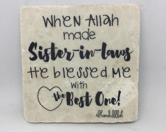 When Allah made Sister in Laws, He blessed me with the best one   Sister   Sister in law   Eid Gift  