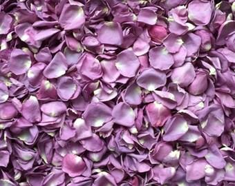 Scented WEDDING TOSS PETALS Lilac Lavender Fresh Freeze Dried, Bio-degradable, Real Rose Petals, Wedding Color Match, Bulk Orders