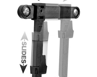 4-way Adjustable Picture Hanger slides up, down, left & right!