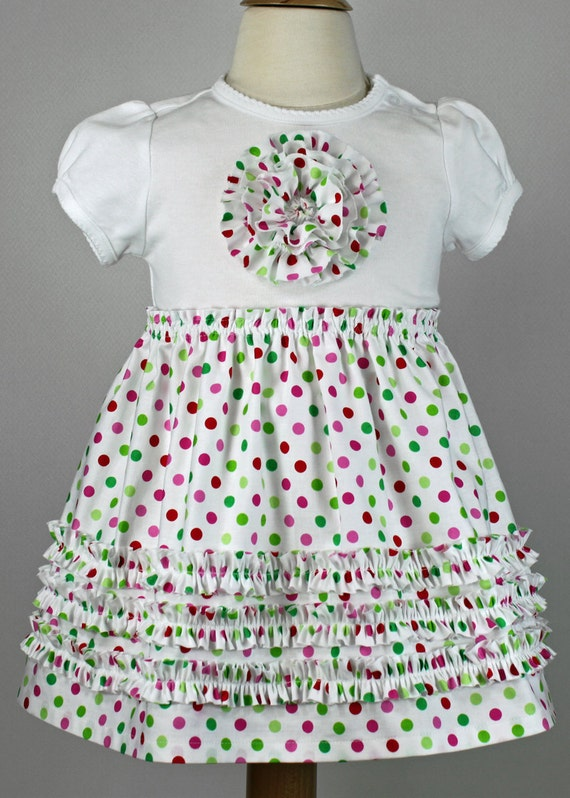 Baby Girls Toddler T Shirt Dress Pdf Pattern Easter Dress