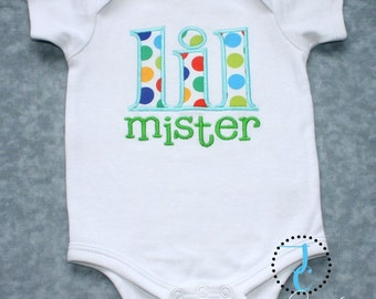 Lil Mister Shirt - Coordinating Sibling Outfits, Brother Sister, Little Brother Shirt, Baby Boy Coming Home Outfit, Baby Boy Shower Gift