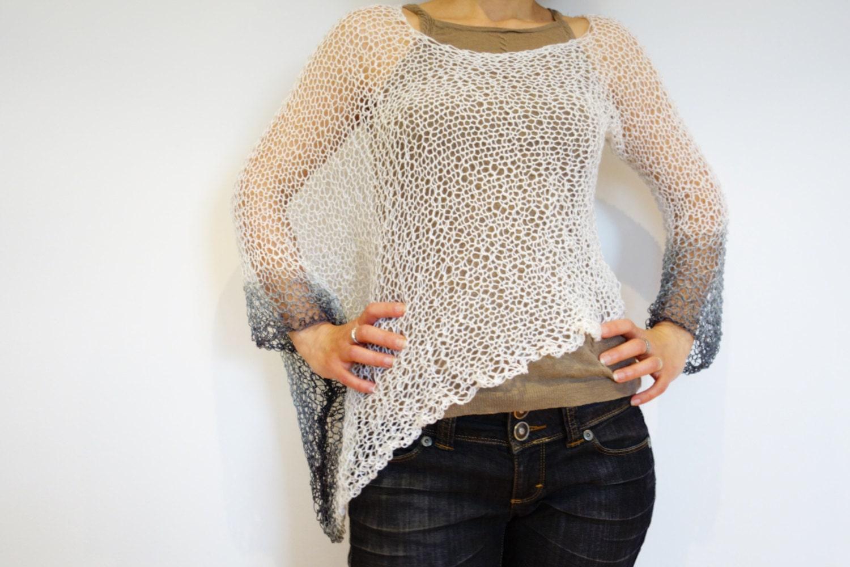 Modern Loose Crochet Sweater Pattern Embellishment - Sewing Pattern ...