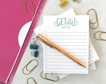 Get 'Er Done Notepad