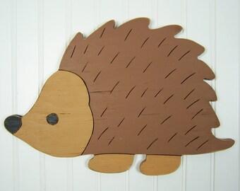 Hedgehog Wood Sign Hedgehog Decor Hedgehog Gift Hedgehog Decoration Baby Gift Kids Decor Wall Hanging Hedgehog Nursery Decor Hedgehog Art