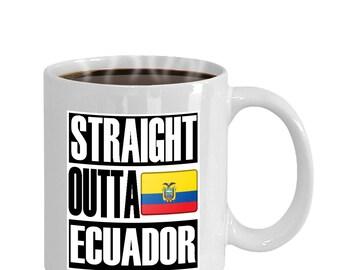 Straight Outta Ecuador Mug