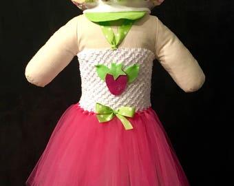 BERRY GIRL, Strawberry Shortcake Inspired Tutu Costume