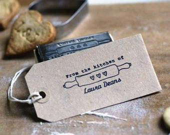 From The Kitchen Of / Baked with love by Rubber Stamp, Baking Rubber Stamp